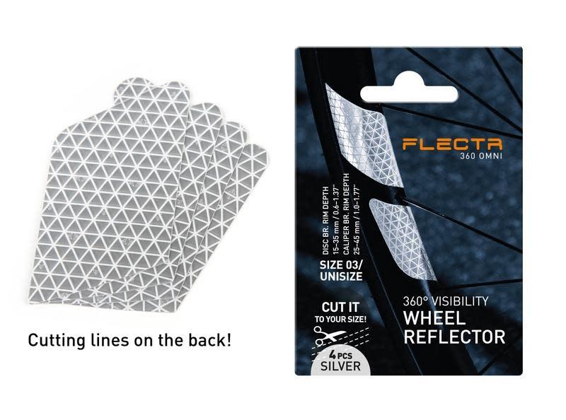 FLECTR Réflecteurs jantes Flectr 360 omni