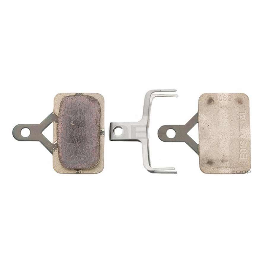 Plaquettes frein Shimano M575 métal (E01S type B)
