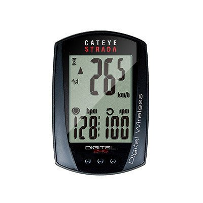 Cyclometre Cateye Strada wireless+cadence+heart