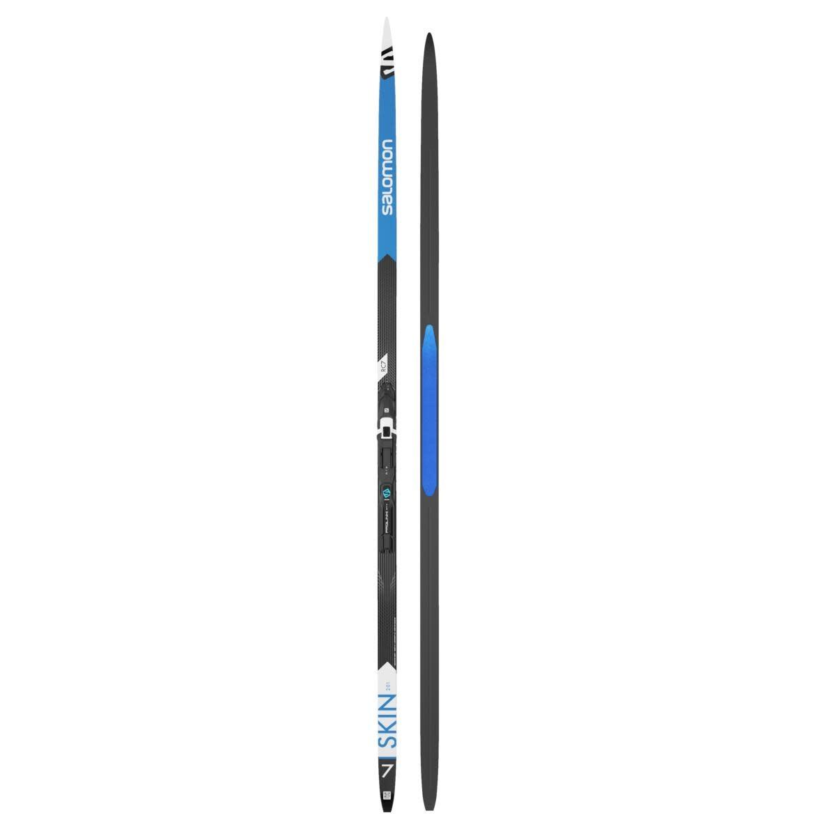 Skis Salomon RC7 eSkin Hard+ Plk shift pro