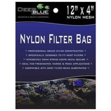 Deep Blue Nylon Filter Bag 12 x 4
