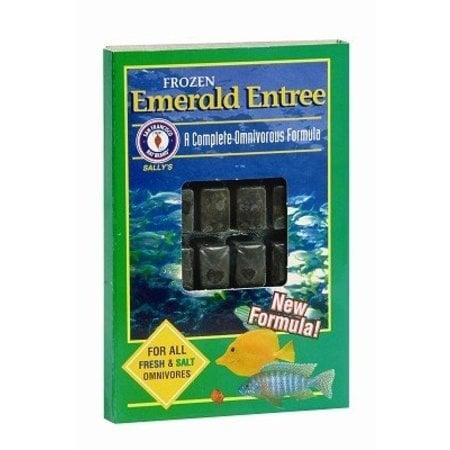 Sally's Frozen Emerald Entree 3.5 oz. Cube
