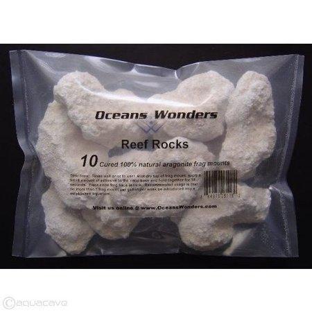Ocean Wonders Frag Rocks ( 10ct)