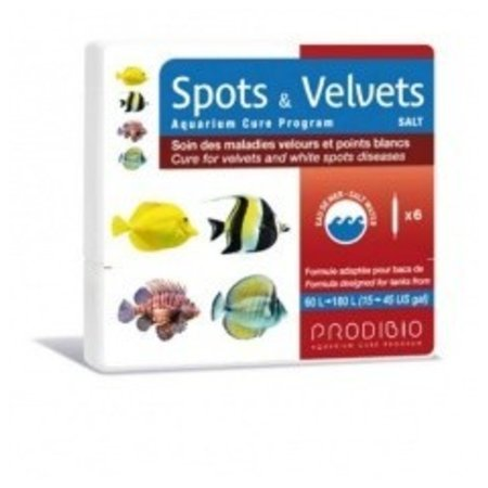 Prodibio Spots and Velvets Salt 6 vials