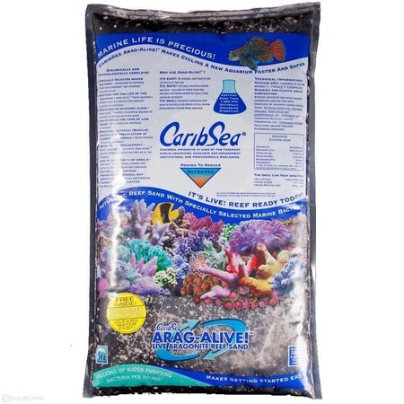 Caribsea Arag Alive Hawaiian Black Sand 20lb