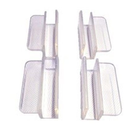 Rimless Aquarium Top Clips 12mm