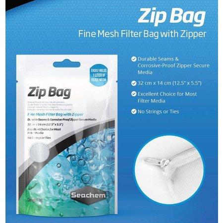 """Seachem Zip Bag 12.5""""x5.5"""""""