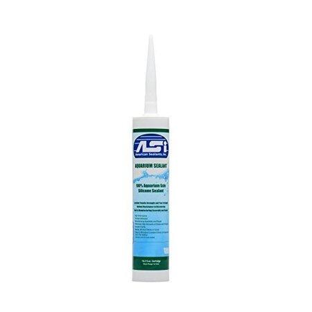 Aqueon Aquarium Silicone Sealant - Clear 10.3oz