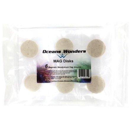 Ocean Wonders Mag Disks 6pc
