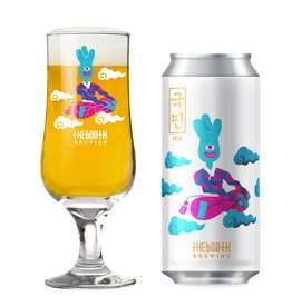 Booth Kukmin IPA ABV 6.5% 16 OZ 4 Pack Can