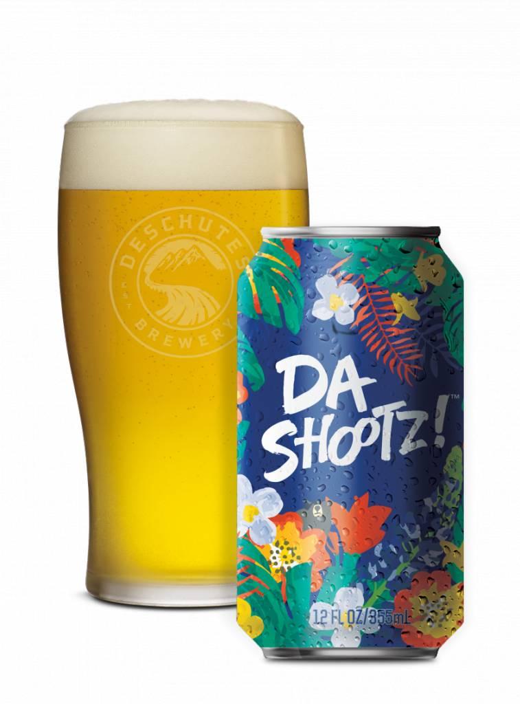 Deschutes Da Shootz Pilsner ABV 4% 6 Pack Cans