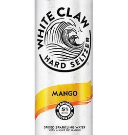 White Claw Mango Spiked Sparkling ABV 5% 12 Pack Can