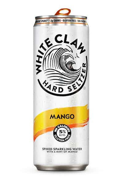 White Claw Seltzer Mango Spiked Sparkling ABV 5% 6 Pack Can