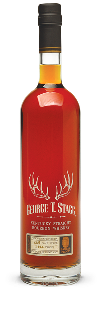 George T. Stagg  Barrel Proof Kentucky Straight Bourbon Whiskey ABV: 116.9%  750 ml