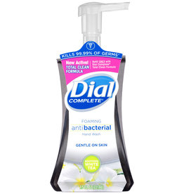 Dial Complete Foaming Anti Bacterial Hand Wash  White Tea 7.5 Fl OZ