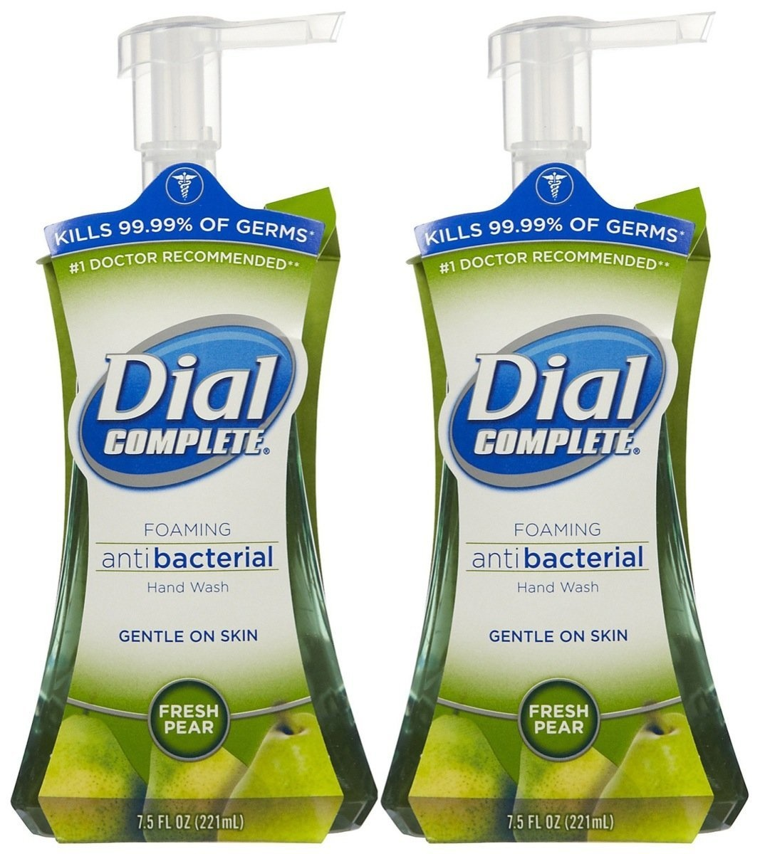 Dial Complete Foaming Anti Bacterial Hand Wash  Pear 7.5 Fl OZ