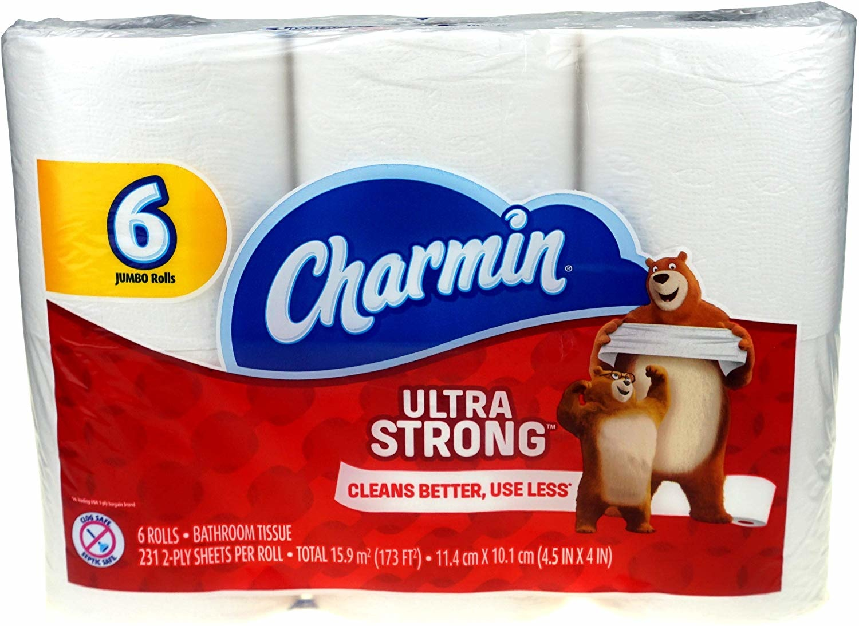 Charmin Ultra Strong 6 Count Jumbo Roll