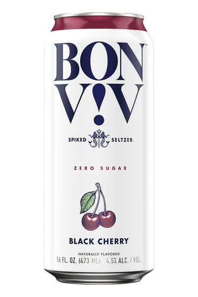 Bon & Viv Spiked Seltzer Black Cherry ABV 4.5% 6 Pack