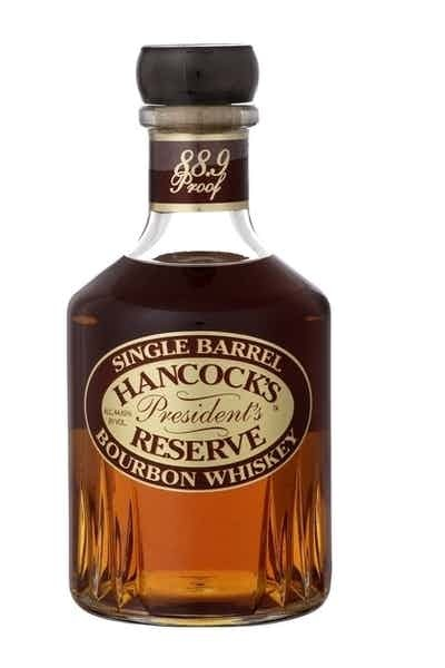 Hancock's Single Barrel president's Bourbon ABV 44.45% 750 ML