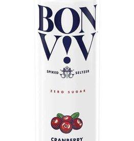 Bon & Viv Spiked Seltzer Cranberry ABV 4.5% 6 Pack