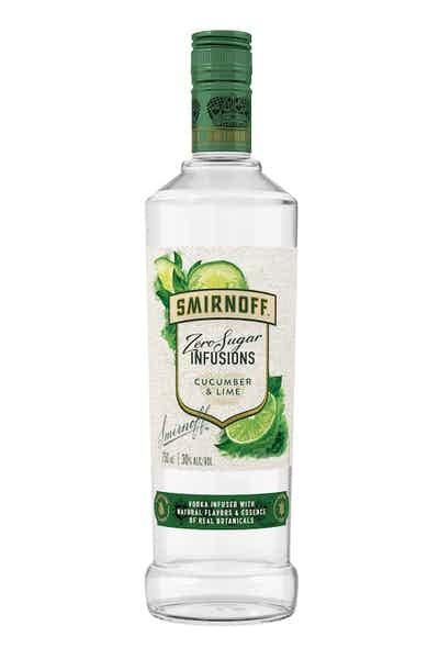 Smirnoff Vodka Cucumber & Lime ABV 30% 750 mL