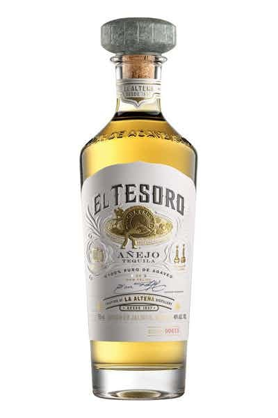 EL Tesoro Tequila Anejo ABV 40% 750 ML