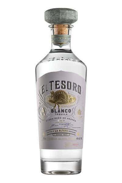 El Tesoro Tequila Blanco ABV 40% 750 ML