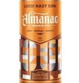 Almanac Beer Co. Hazy  IPA ABV 6.1% 16 Fl OZ 4 Pack