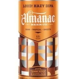 Almanac Beer Co. Hazy Double IPA ABV 8% 16 Fl OZ 4 Pack