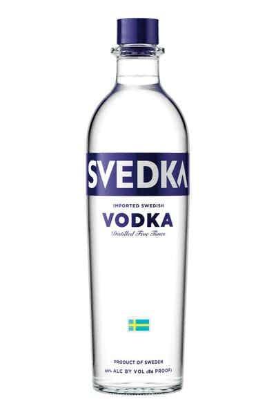 Svedka Vodka ABV: 80  1.75 L