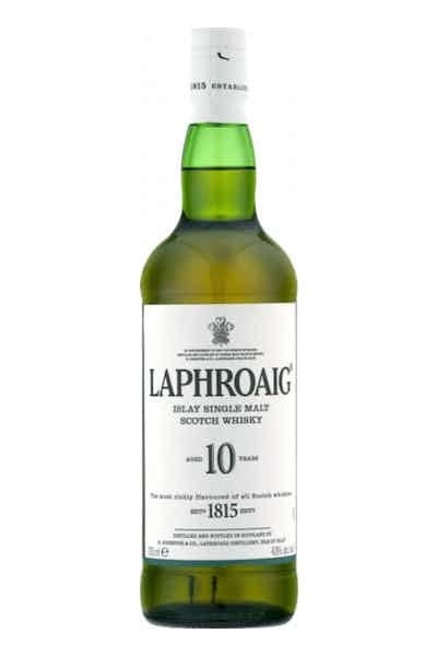 Laphroaig Single Mailt ABV 43%  10 Year 750 ML