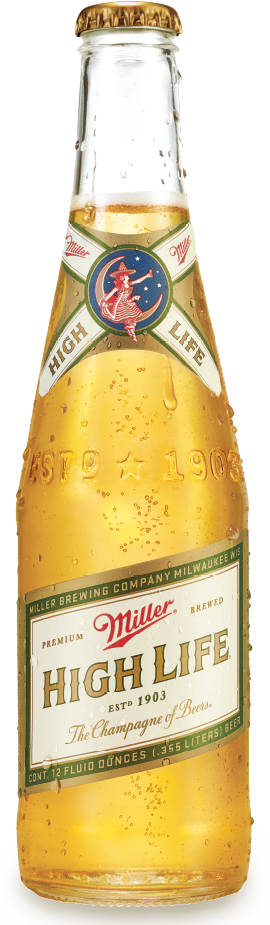 Miller High Life ABV 4.6% 6 Packs