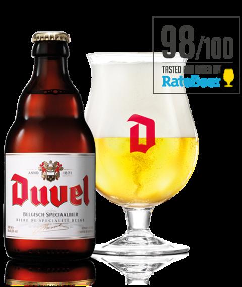 Duvel  Belgian Golden Ale ABV 8.5% 4 Pack