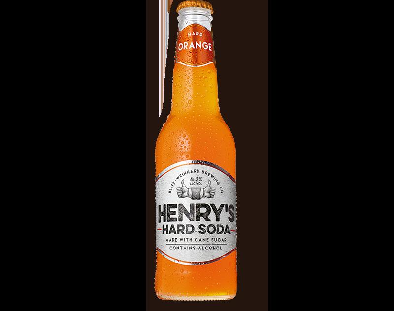 Henry Orange Cream Soda 6 Pack