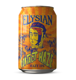 Elyslan Contact Hazy IPA ABV 6% 6 Pack Cans