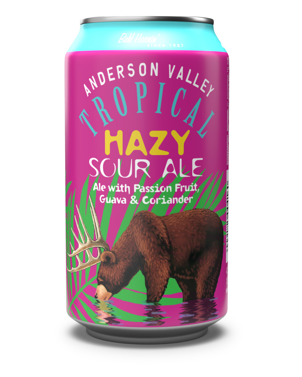 Anderson Valley Tropical Hazy Sour Ale ABV 4.2% 6 Pack