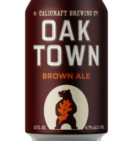 Calicraft Brewing Co. Oaktown Brown ABV: 6.7%  6 Pack Can