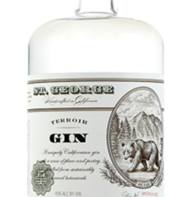 St George Terroir Gin Proof: 90  750 mL