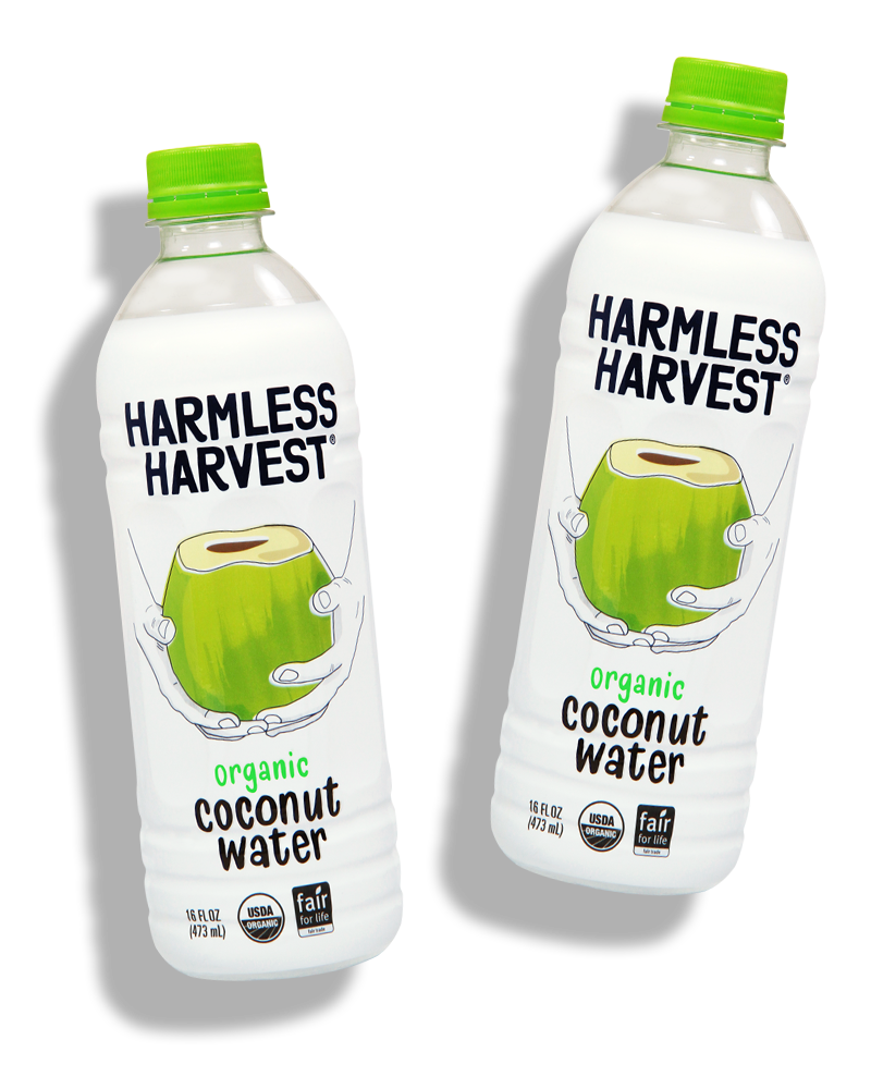 Harmless Harvest 100% Raw Coconut Water 14 OZ