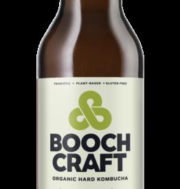 Booch Craft High Alcohol Apple lime Jasmine Kombucha ABV 7% 22 OZ