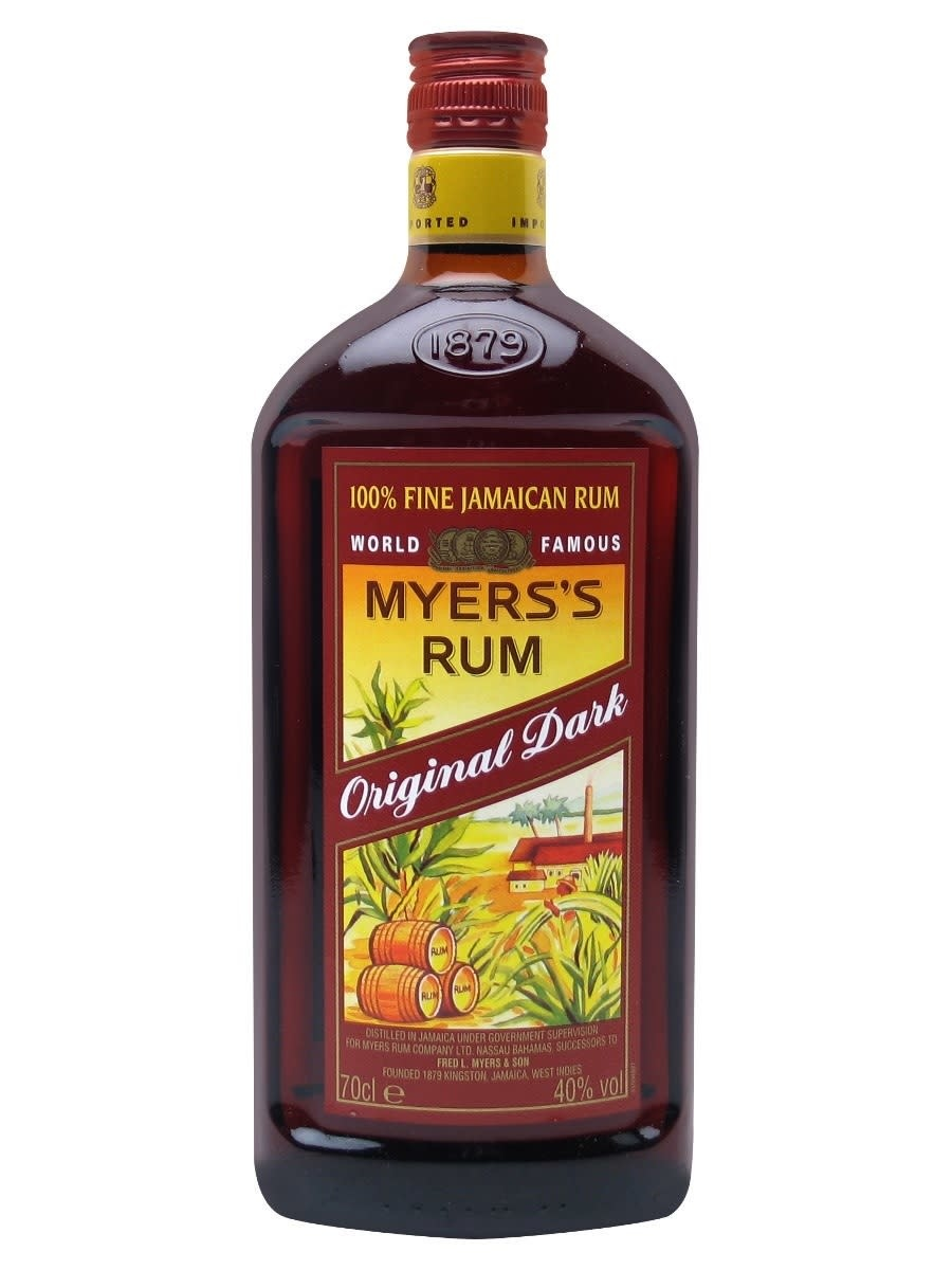 Myers's  Original Dark Rum Proof: 80  750 mL