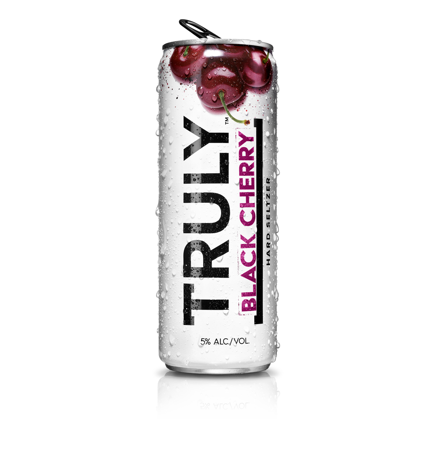 Truly Hard Seltzer Black Cherry ABV 5 % 6 Pack Can