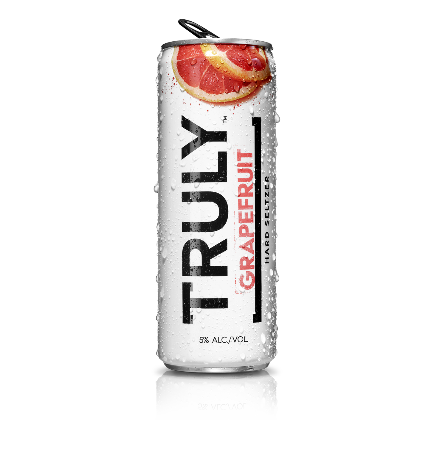 Truly Hard Seltzer Grapefruit ABV 5 % 6 Pack Can