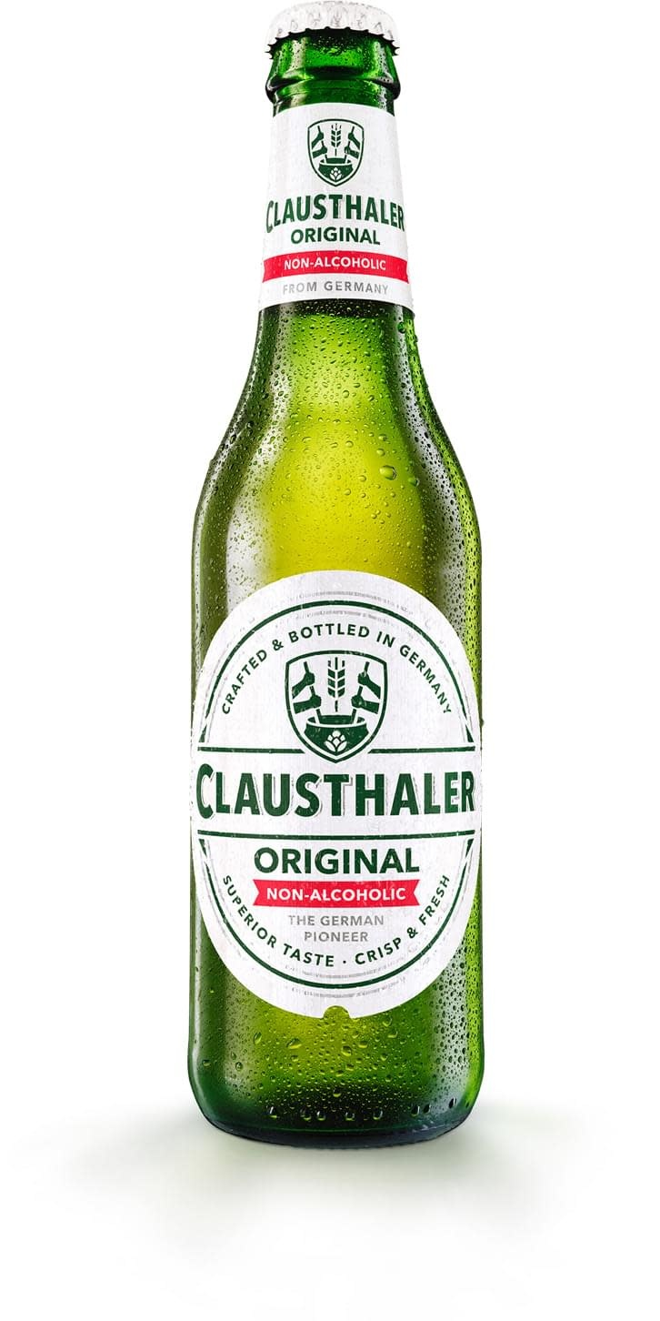 Clausthaler Original Non-Alcoholic Beer ABV .5%  6 Pack