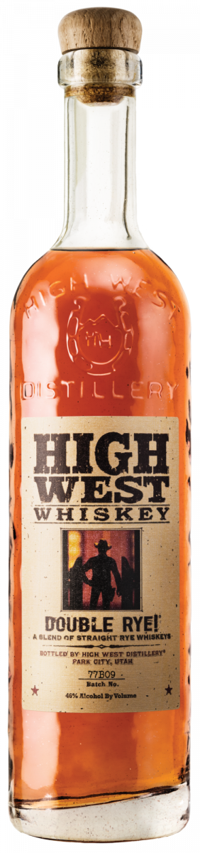 High West Whiskey Double Rye ABV 46%  750 ML