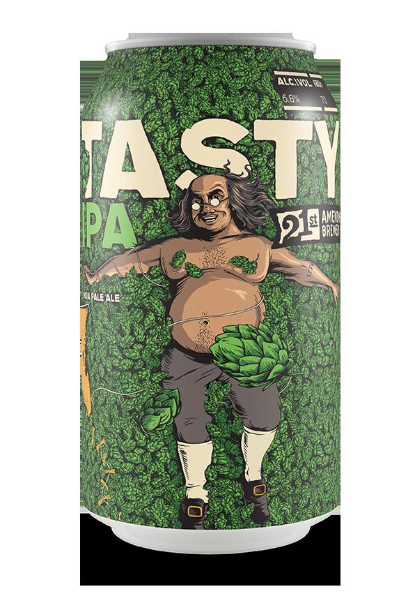 21st Amendment Brewery Tasty Hazy  IPA ABV: 6.7% 6 Pack