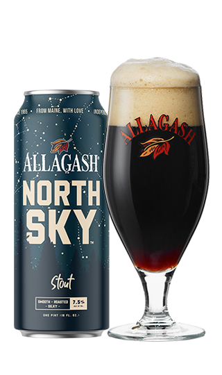 Allagash Brewing Co. North Sky Stout  ABV 7.5% 4 pk Cans