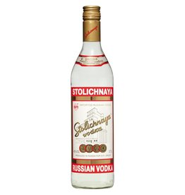 Stolichnaya Vodka Proof: 80  750 mL