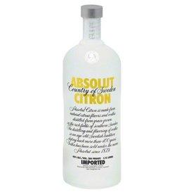 Absolut Citron Vodka ABV: 40%  750 mL