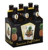 ACE Premium Gluten Free Pineapple Craft Cider ABV: 5%